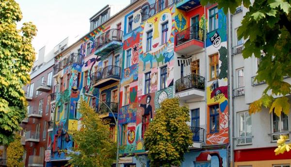 urlaubsziele europa berlin graffiti kunst