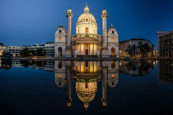 urlaubsziele europa wien karlskirche