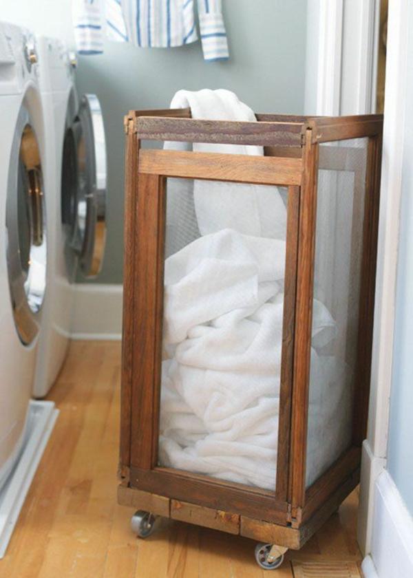 Wäschekorb Holz : Der richtige w?schekorb in waschk?che clevere