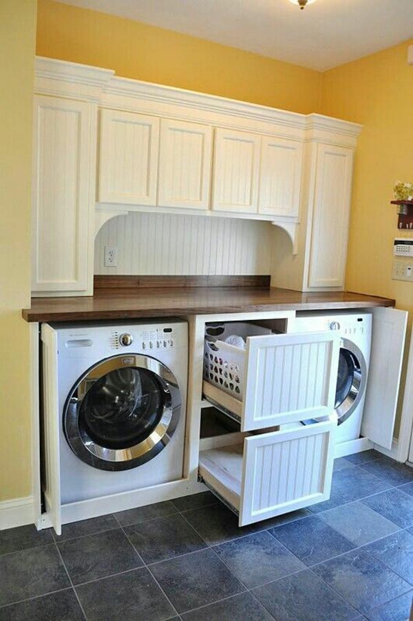 Waschküche Möbel der richtige wäschekorb in der waschküche clevere einrichtungsideen