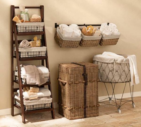 wäschekorb ratta hantuch leiter waschküche einrichten