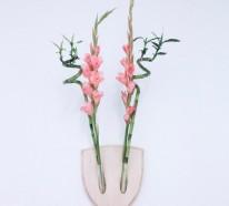 Wanddeko Ideen, die Ihre vier Wände zum Blühen bringen