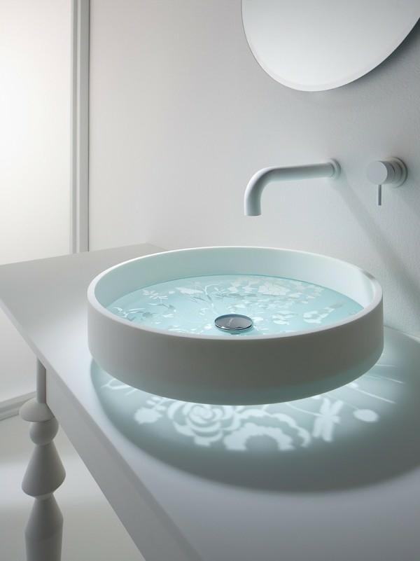 30 Beispiele für außergewönliches Waschbecken Design | {Waschbecken rund 24}