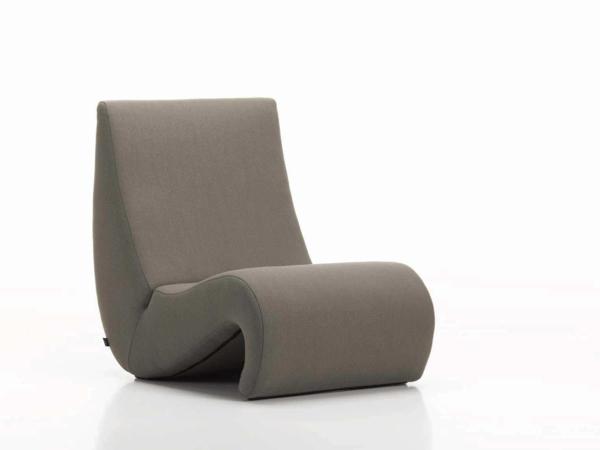 werner panton stuhl elegantes design beige