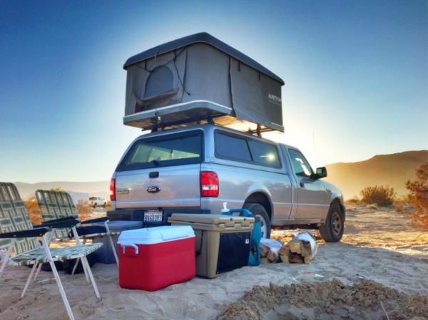 wohnanhänger geländewagen air top zelt camping
