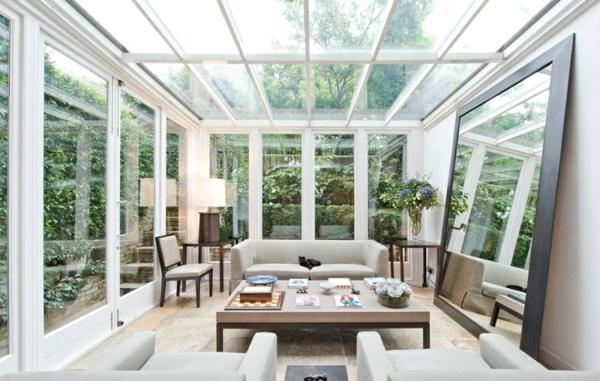 Wintergarten Einrichten ? Ideen Für Grüne Und Gemütliche ... Richtige Einrichtung Wintergartens