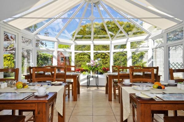 wohnwintergarten bilder wohnraum wintergarten esszimmertische restaurant