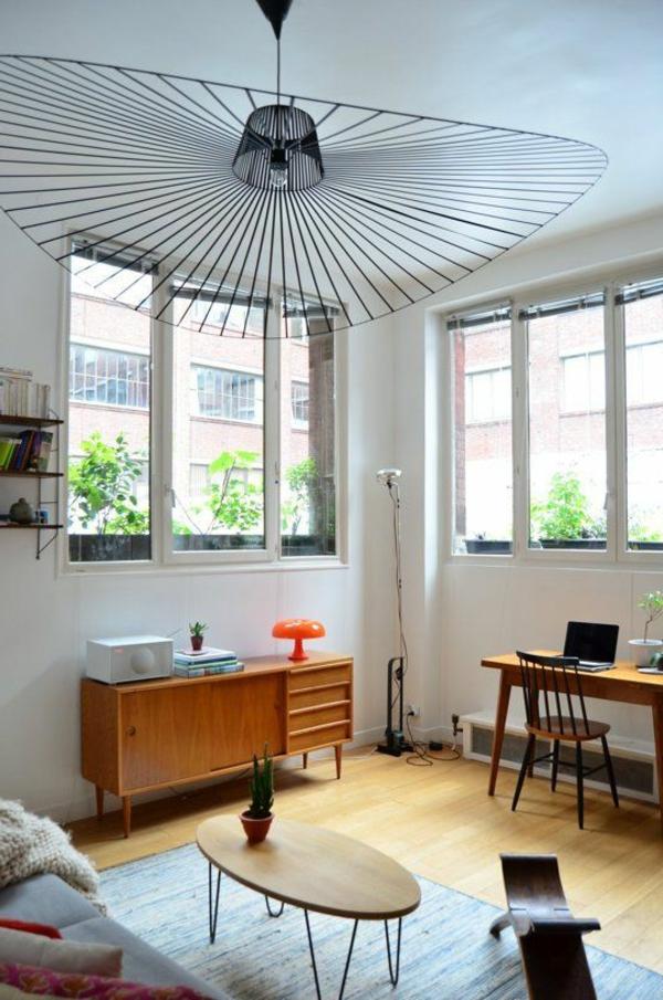 wohnzimmer einrichten retro couchtisch oval
