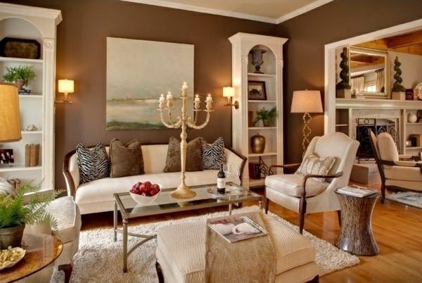 Waende Gestalten Stilvoll : Wohnzimmer wandgestaltung ein paar stilvolle vorschläge
