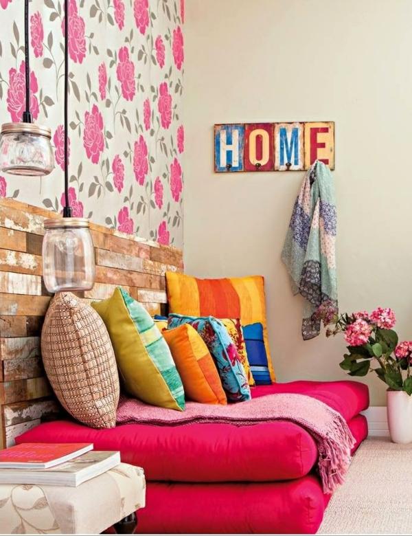 Wohnzimmer Mit Tapete Gestalten : tapete wohnzimmer gestalten : Wohnzimmer Wandgestaltung ? Ein paar