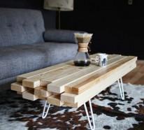 Wohnzimmertisch Aus Holz Selber Bauen Tolle Diy Ideen Zum Nachmachen