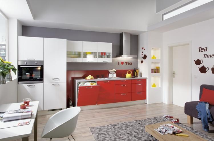 küchendekoration ideen küche modern einrichten