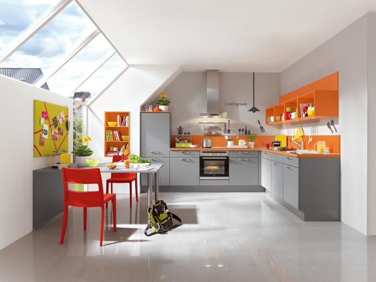 küchendekoration ideen küchen gestaltungsideen farben