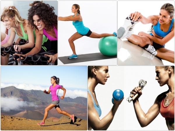 Aerobes Training sport und fitness