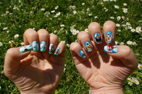 Angry Birds desislava hadzhiyska negellack