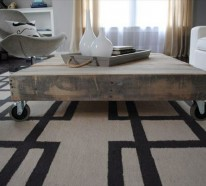 Möbel aus Paletten peppen das Innendesign auf