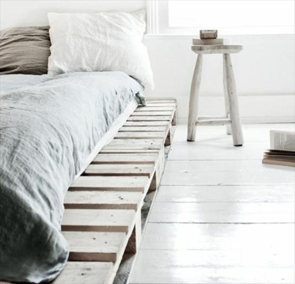 DIY Möbel aus Paletten diy bett bauen
