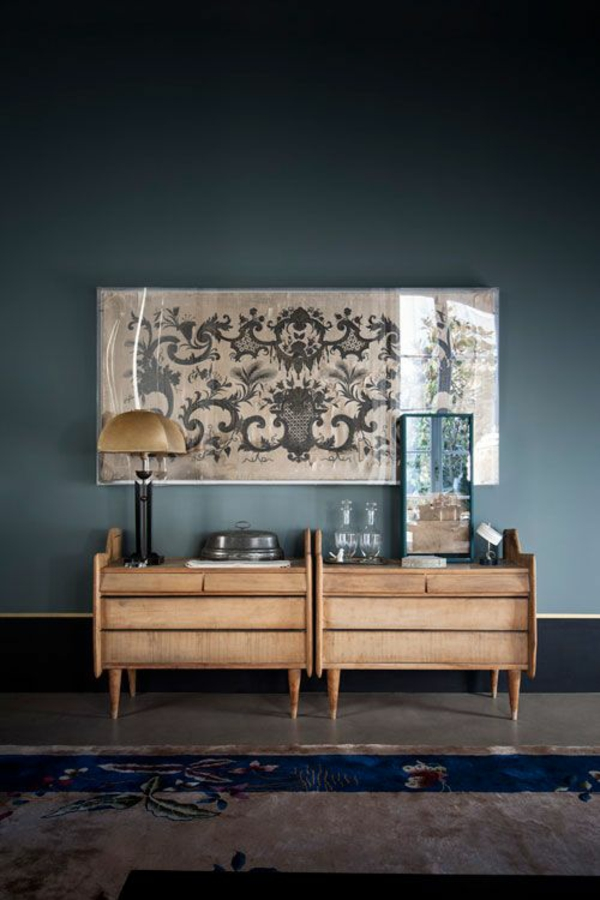 DIY Möbel aus Paletten schicke anrichte selber bauen