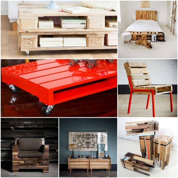 DIY projekte Möbel aus Paletten selber machen