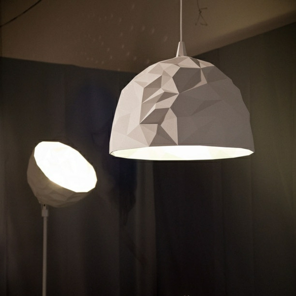 designer lampen Diesel Foscarini rock pendelleuchte stehlampe