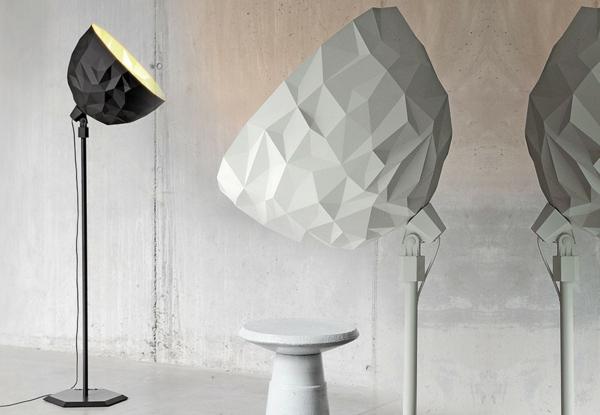 designer lampen Diesel Foscarini rock stehlampen ausgefallen