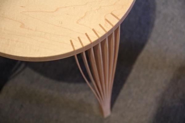 Furnier zukunft des materials designer möbel tisch bein