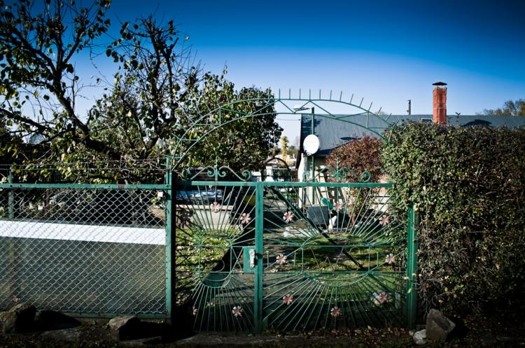 Gartenaccessoires und Gartendekoration vintage gartenzaun
