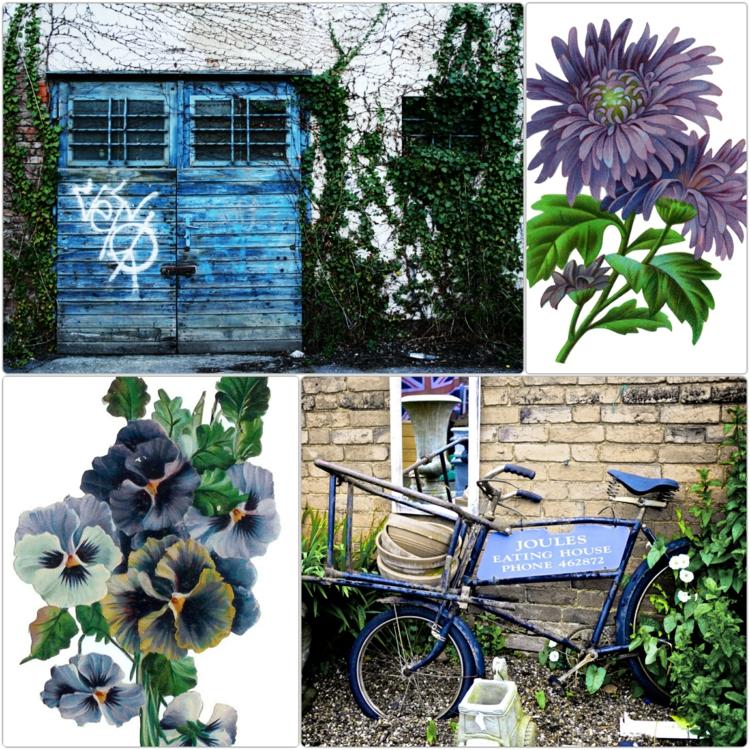 Gartenaccessoires und vintage Gartendeko ideen Frühlingsblumen