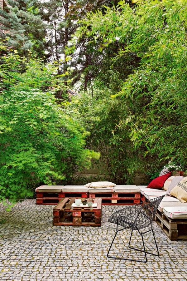 Gartenmöbel aus Paletten diy projekte möbel selber bauen