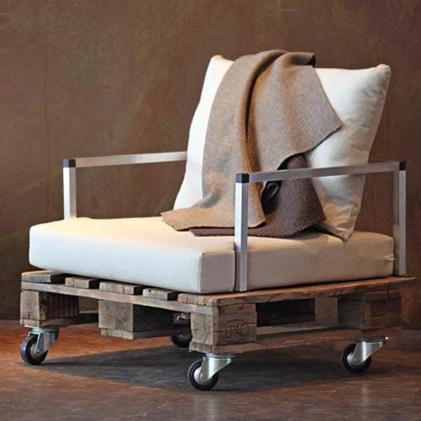 Ideen Fur Balkonmobel : Gartenmöbel aus Paletten selber bauen und den Außenbereich
