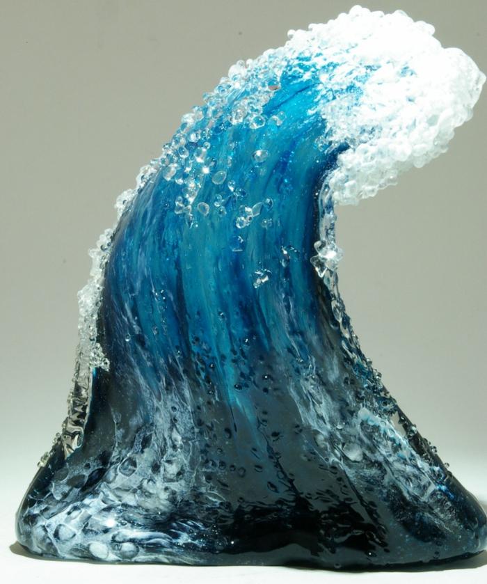Glaskunst maritime Deko Vasen skulpturen Marsha Blaker Paul DeSomma