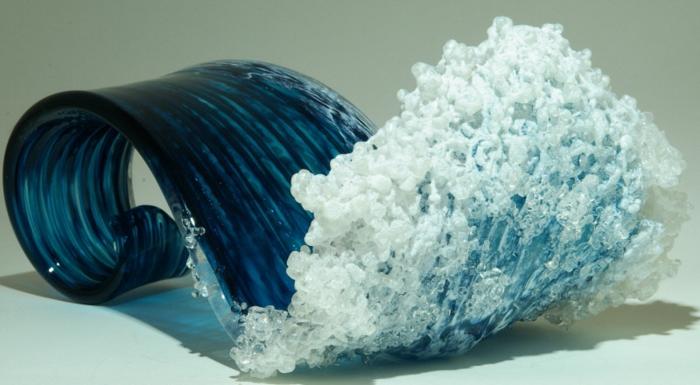 Glaskunst maritime Deko ideen Marsha Blaker Paul DeSomma