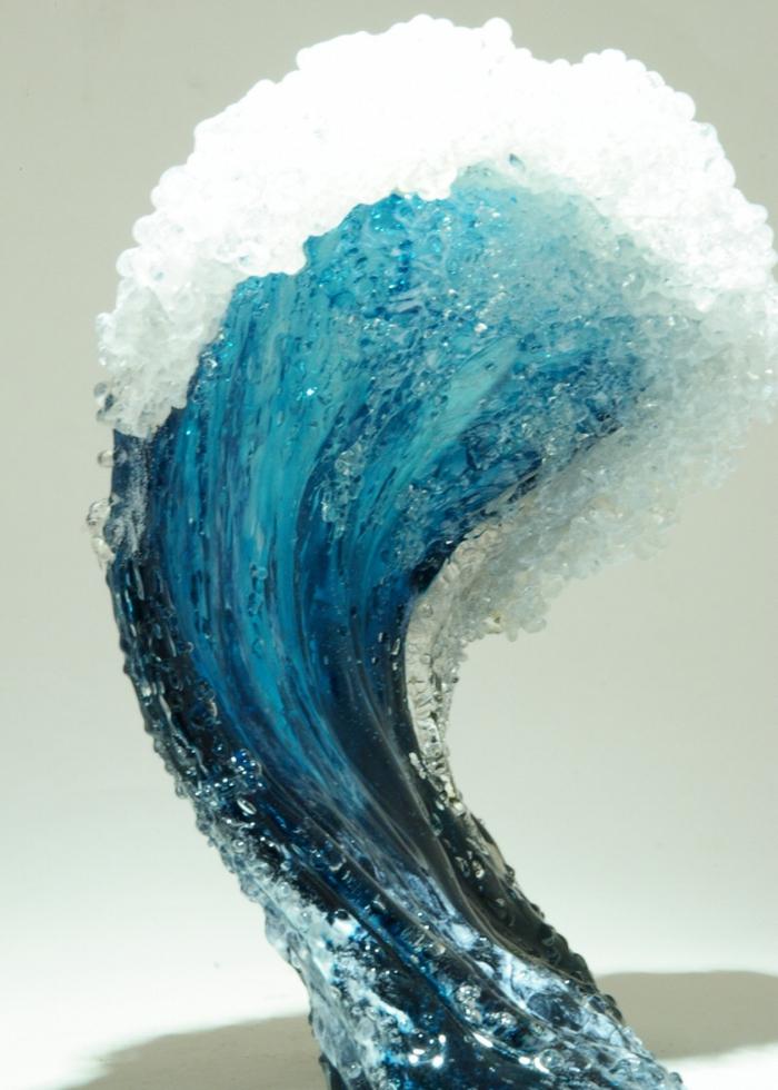 Glaskunst maritime Deko skulpturen design Marsha Blaker Paul DeSomma