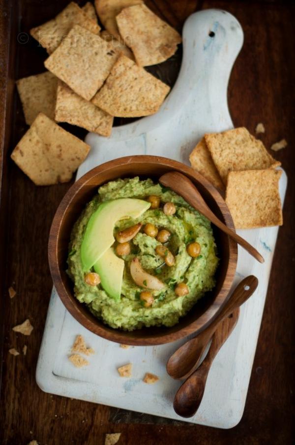 Hummus selber machen hummus gesund essen avokado und kichererbsen