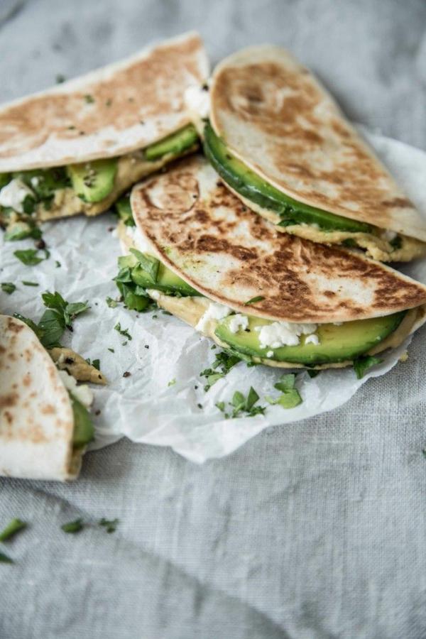 Hummus selber machen hummus gesund essen indisches brot mit humus