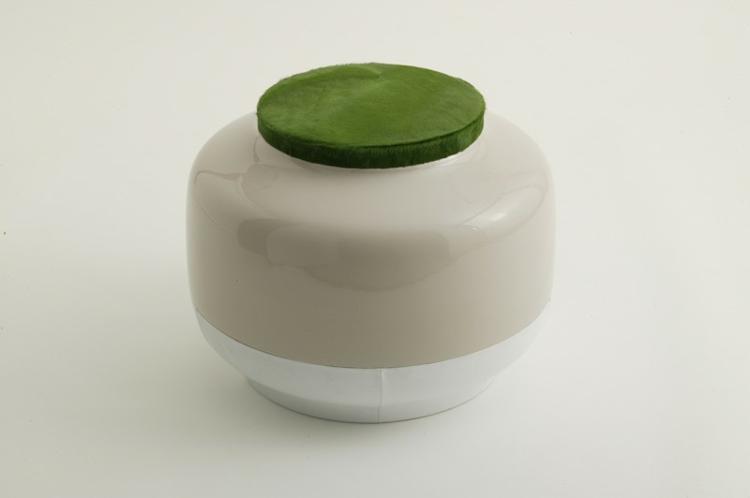 Italienische Möbel Bosa keramik bonito pouf