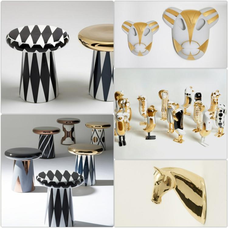 Italienische Möbel Bosa keramik design wohnaccessoires
