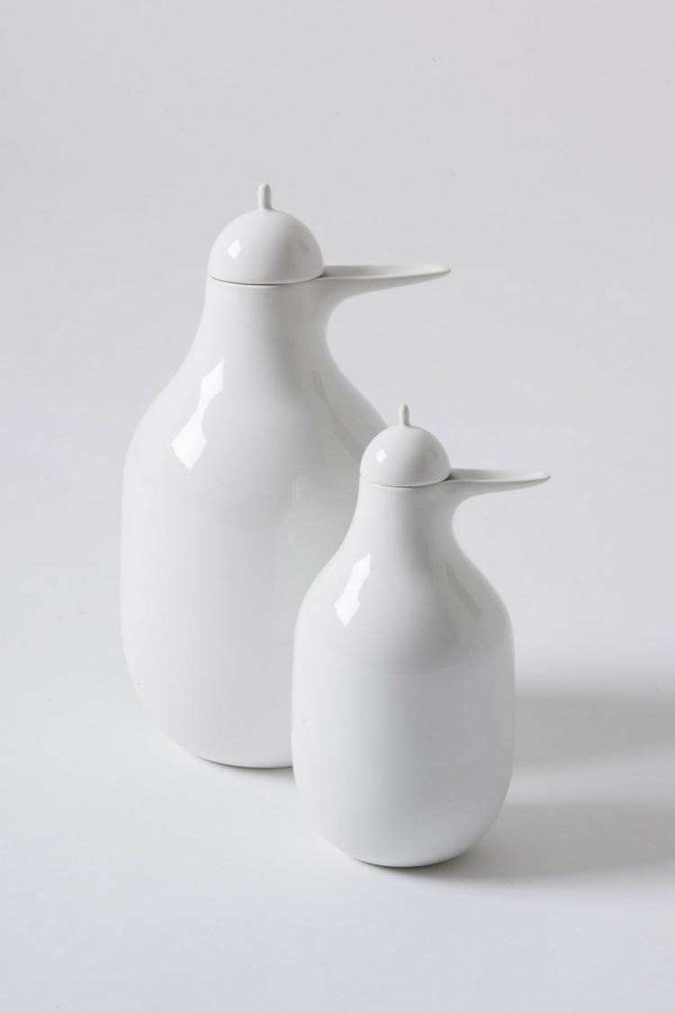 Italienische designermöbel Wohnaccessoires Bosa keramik design pellicano teekane weiß