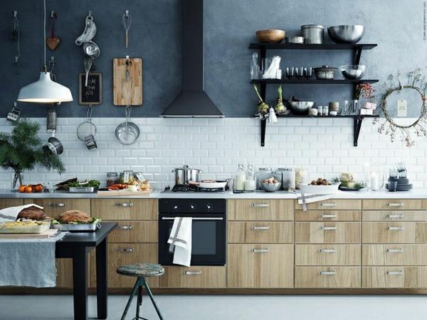 Küchendesign metod küchen holz unterschränke
