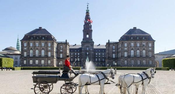 Kopenhagen Sehenswürdigkeiten Christiansborg kutsche