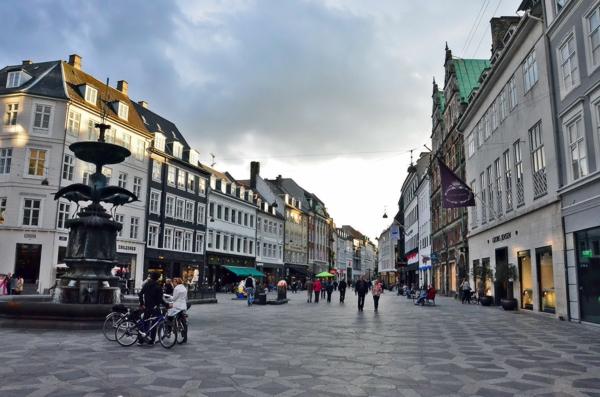 Kopenhagen Sehenswürdigkeiten fußgängerzone stroget straße