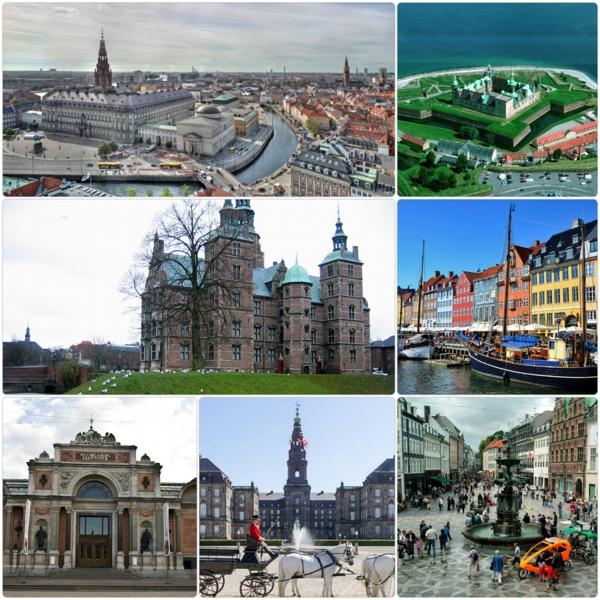 Kopenhagen Sehenswürdigkeiten stad bilder reisen und urlaub