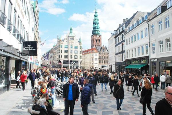 Kopenhagen Sehenswürdigkeiten stroget fußgängerzone längste straße