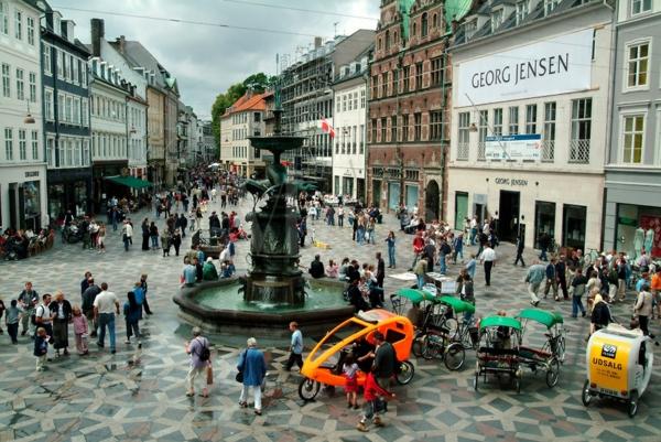 Kopenhagen Sehenswürdigkeiten stroget fußgängerzone