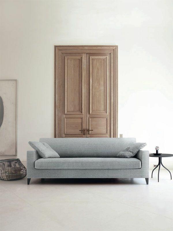 Ligne Roset Sofa designer möbel grau philippe nigro