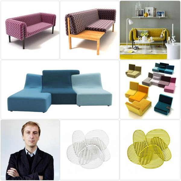 Ligne Roset Sofa designer möbel philippe nigro