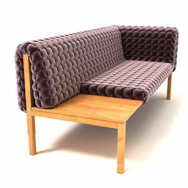 Ligne Roset Sofa designer möbel purpur philippe nigro