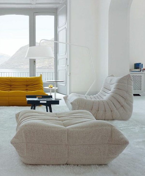 ein ligne roset sofa l sst ihren wohnraum fr hlicher erscheinen. Black Bedroom Furniture Sets. Home Design Ideas