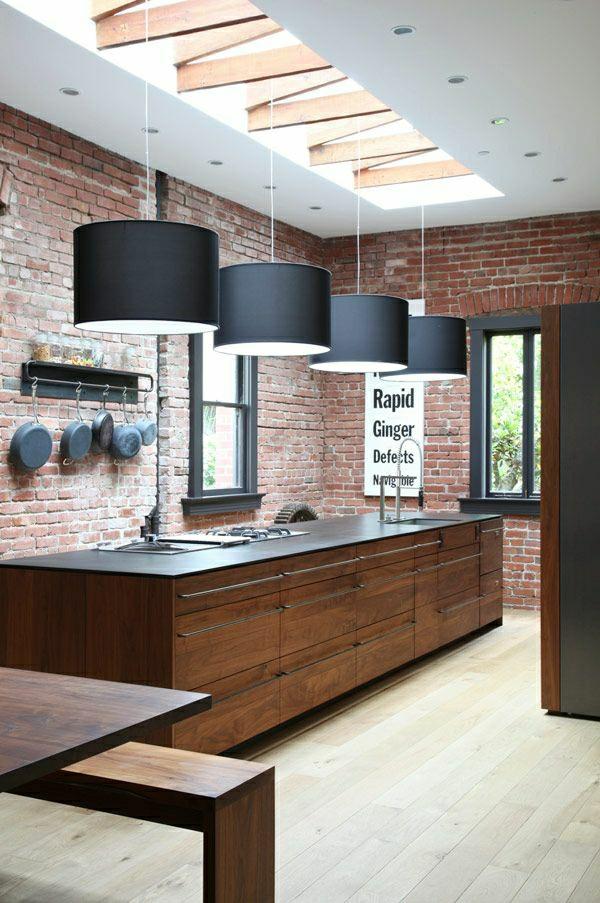 Moderne Küchen mit Kochinsel küchenblock freistehend Küchendesign