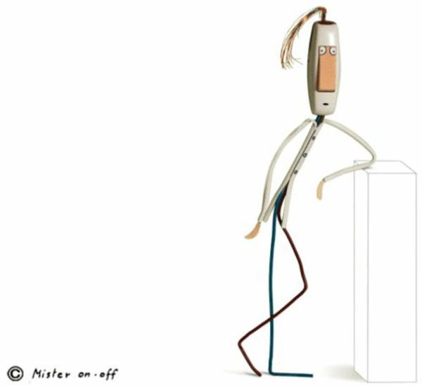Moderne Skulpturen französische Künstler Gilbert Legrand 3d kunst ideen